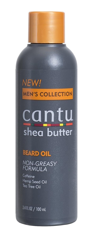 Cantu Shea Butter Men's Collection Beard Oil, 3.4 Fluid Ounce Dr. Teals 07690-12/3PK