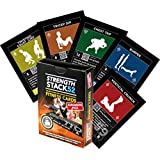 Exercise Cards Expansion Pack: Strength Stack 52 Bodyweight Workout Cards. Designed By Military Fitness Expert. Fitness Cards Include Video Instructions. No Equipment Needed. Fun, Motivating at Home Workout Programs