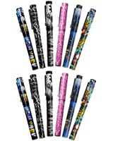 12X Unique Designs Ultimate Collectible New York City Ballpoint Pen NYC Gift Pen NY Souvenir Pens - Pack of 12