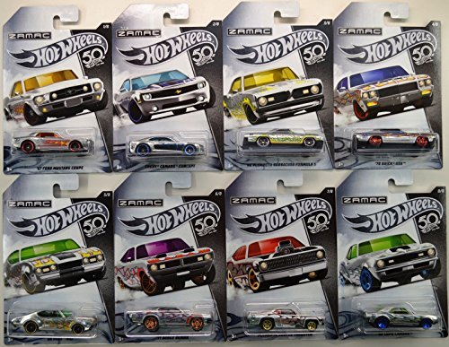 Hot Wheels 2018 Zamac set of 8 (Trucks Classic Old Chevy)