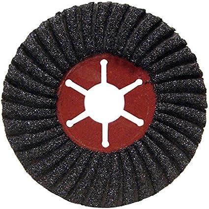 4-1//2 x 5//8-11 10 Pack Mercer Industries 396HBLK Surface Prep Wheels Type 27 Black//X-Course