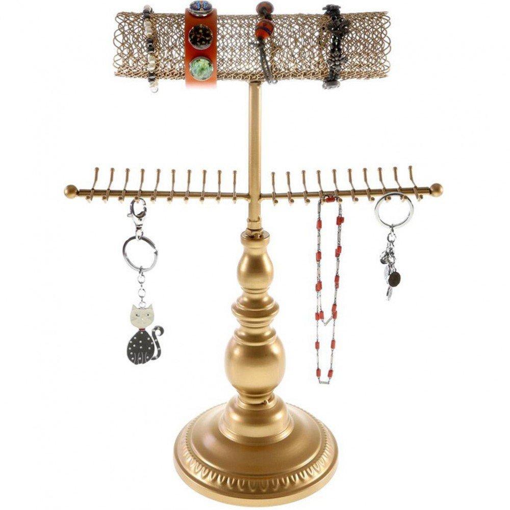 Porte Bijoux Queen Colliers Bracelets Accessoires Cuivre Présentoirs pour bijoux SKU009963