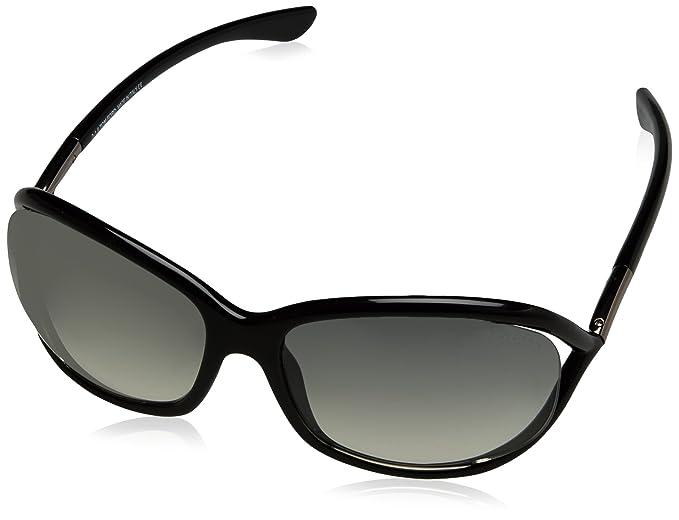 0866578fa5ad Tom Ford Sunglasses FT0008 01B (61 mm) Black