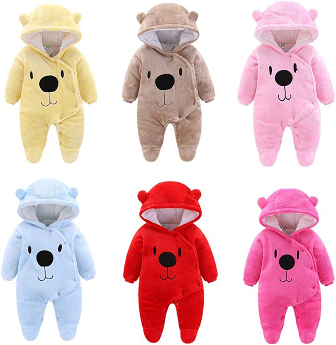 Mornyray Newborn Baby Girls Boys Sweater Jumpsuit Winter Knit Romper Clothes