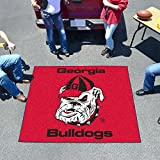 GEORGIA BULLDOGS NCAA TAILGATER FLOOR MAT (5X6) BULLDOG LOGO SIZE ONE