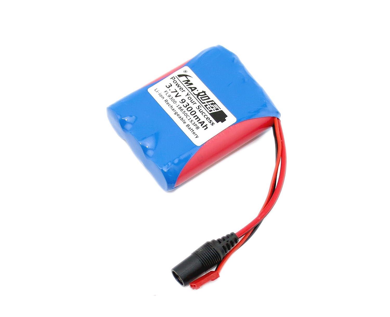 3.7 V 9300 mAh Li - Ionバッテリー33100 mAhにセル1s3pプラグ米国 B0723594BL