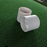 2Pcs Golf Training Hole Cup Putting Green Golf
