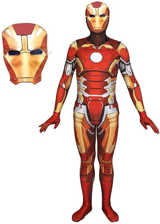 ERTSDFXA Iron Man Disfraces Adulto Disfraz De Vengadores Carnaval ...