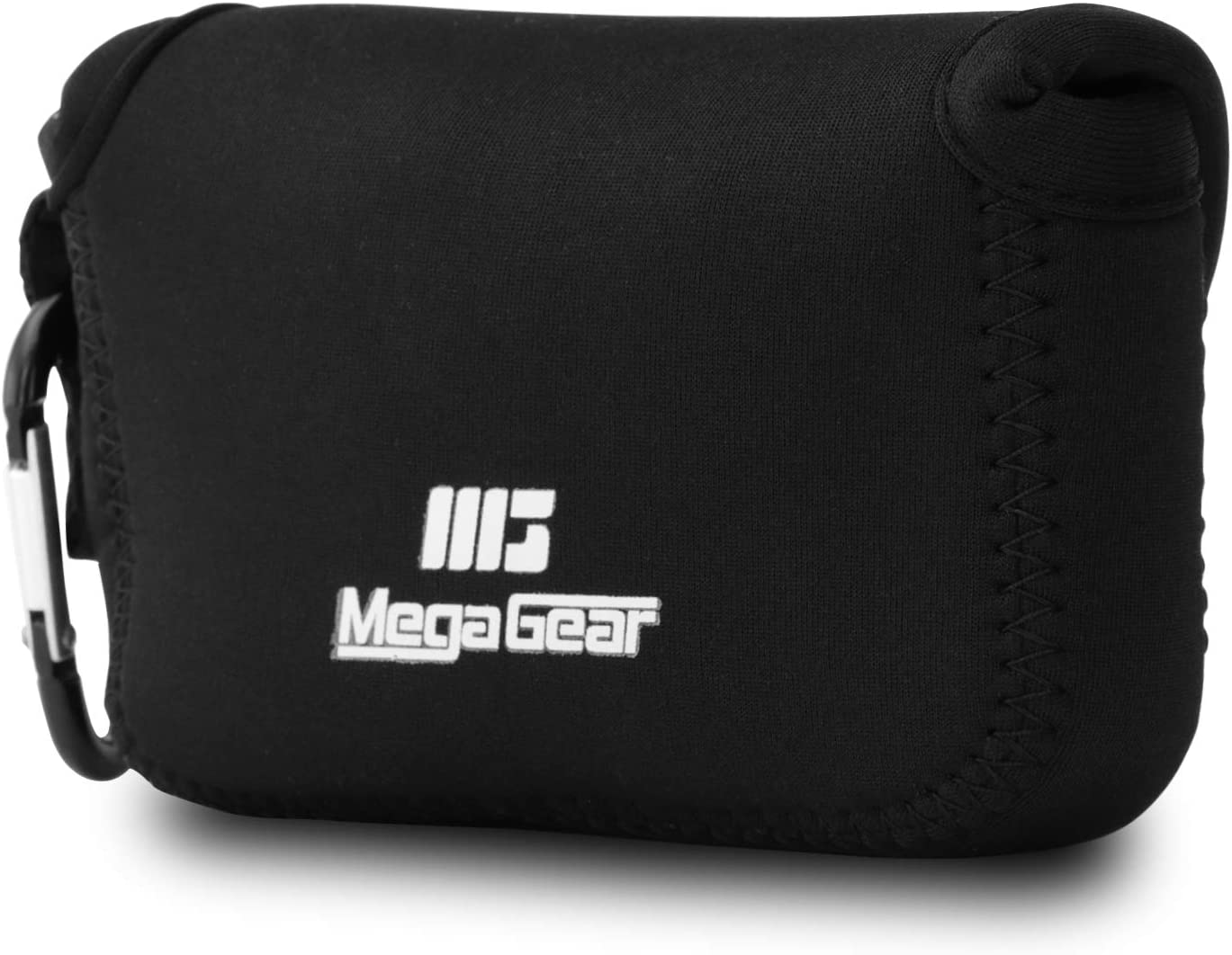 MegaGear Funda de Neopreno Ultraligera para cámara Canon PowerShot SX720 HS, SX710 HS, SX700 HS, SX170 IS, G16, G15, SX160 IS, Sony Cyber-Shot DSC‑HX60V, DSC-HX50V (Negro)