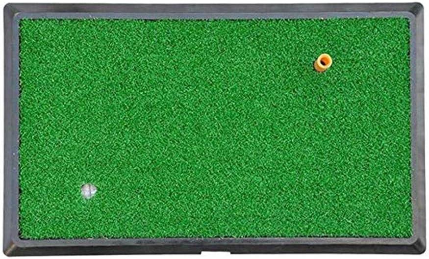 YDXYZ Tapete de Golf 33x63cm Práctica residencial Golpear tapete de Goma Soporte for Camiseta Zona de Lanzamiento Golpear tapete: Amazon.es: Deportes y aire libre