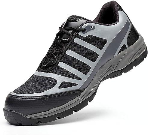 Zapatos de seguridad Ligera zapatillas de deporte - hombre de acero del dedo del pie Cap trabajo