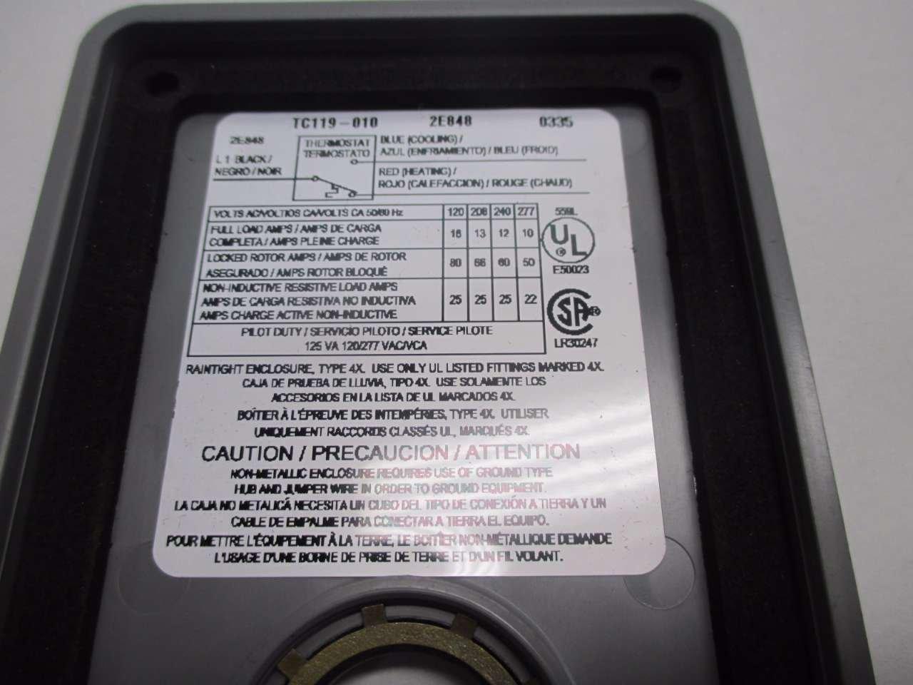 NEW SUNNE CONTROLS TC119-0010 0-120F 120/240V-AC TEMPERATURE CONTROLLER D494979: Amazon.com: Industrial & Scientific