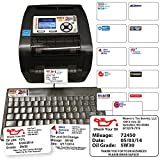 Oil Change Reminder Printer - System Kit w/ 1000 Stickers + Ink Ribbon