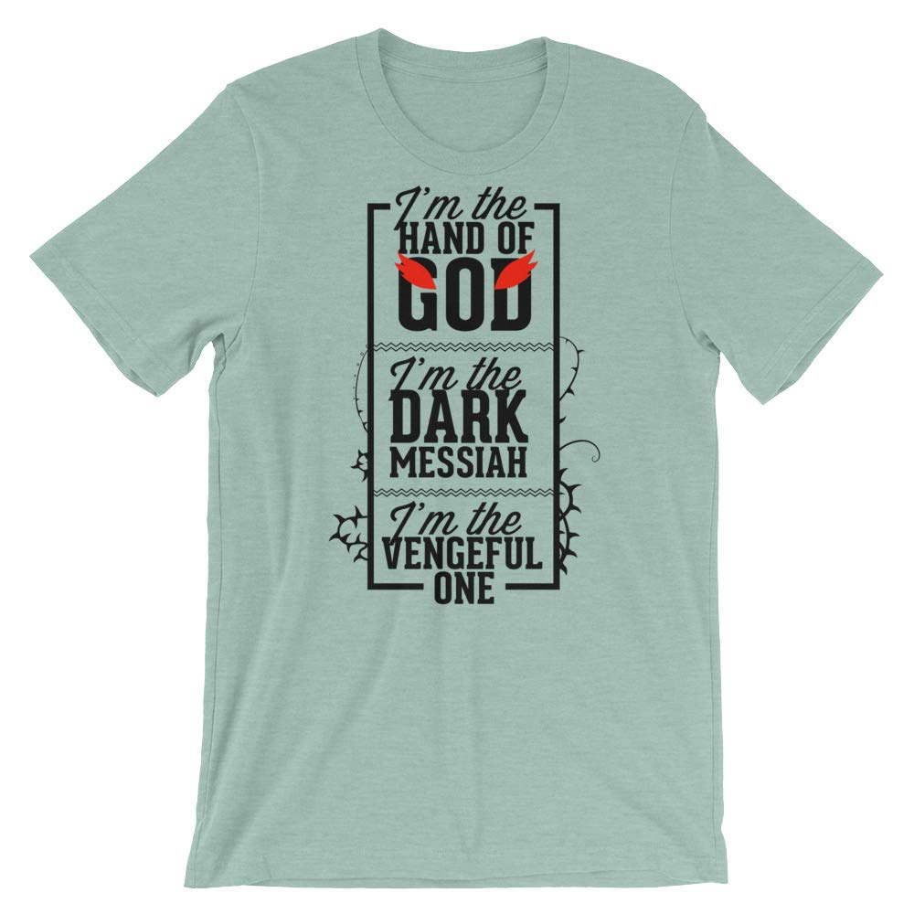 Im The Hand of God T-Shirt Graphic Shirts Funny Unisex Shirt