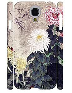 Custom Girly Ink Daisy Durable Phone Aegis Shell Case for Samsung Galaxy S4 I9500
