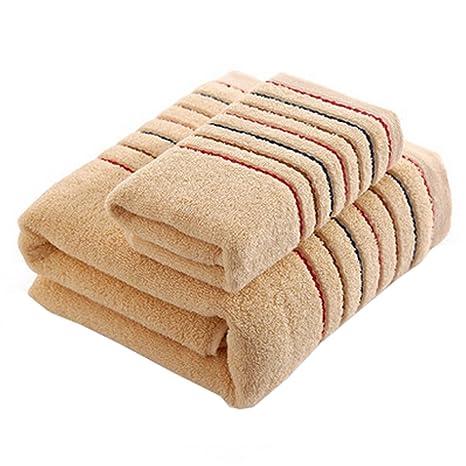 2 piezas de lujo sábanas de algodón suave Hotel / bañera de hidromasaje toalla de baño
