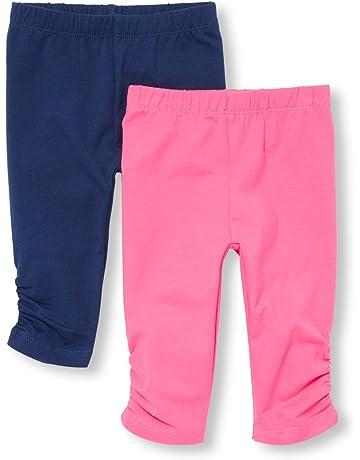 8a95de447b13e3 The Children's Place Baby Girls' 2 Pack Basic Leggings