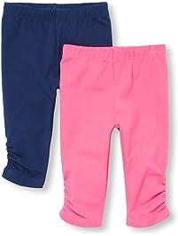 aba1f5f9f The Children's Place Baby Girls' 2 Pack Basic Leggings