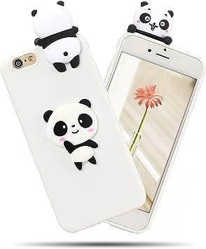 coque iphone 6 panda silicone