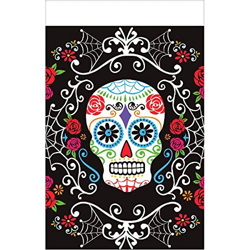 Day of The Dead Plastic Table Cover ()