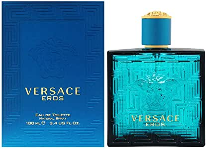 Versace Eros Eau de Toilette for Men, 100ml