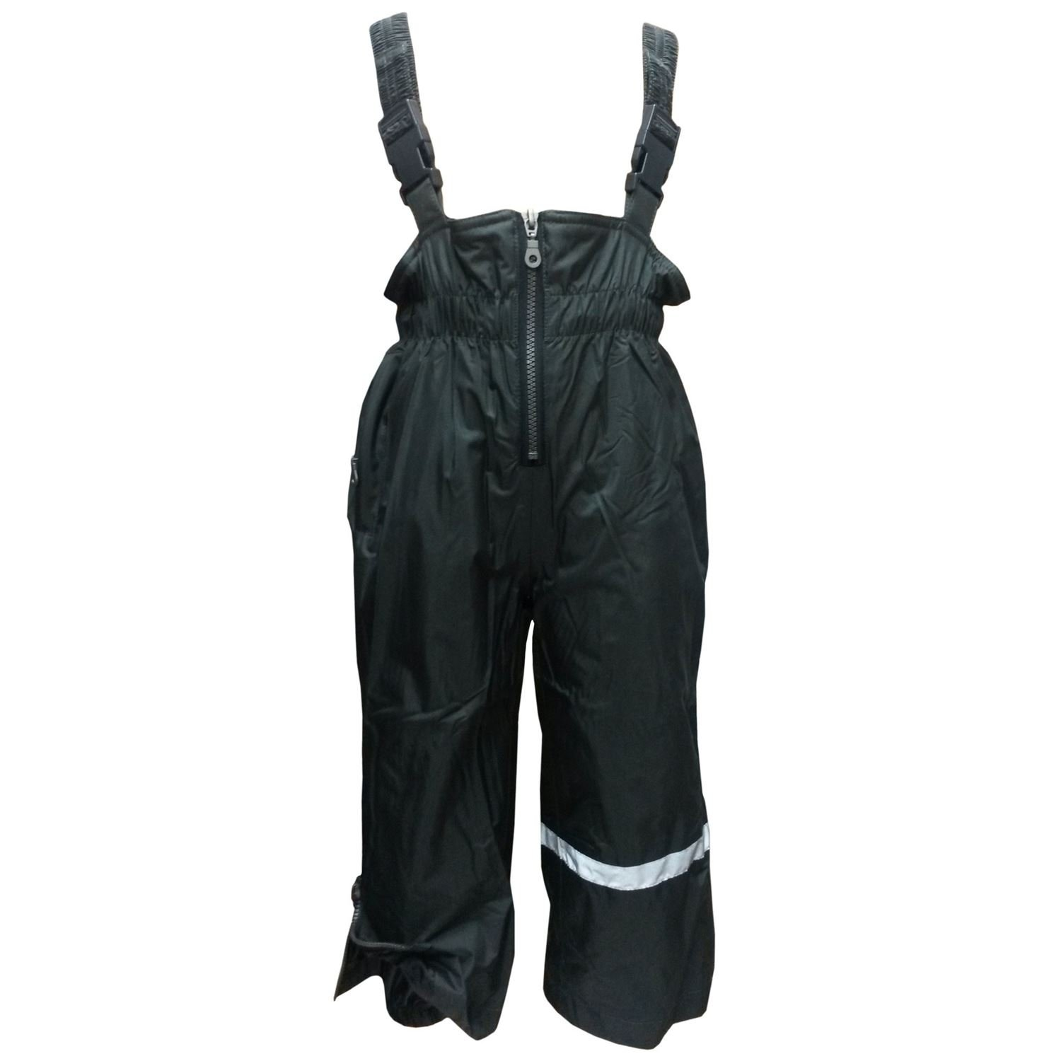 Outburst - Boys and girls raincoats slippers ski pants dungarees fleece lining water-permeable, anthracite
