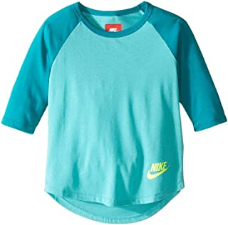 Nike G NSW Top 3qt Sleeve Camiseta Manga 3/4, Niñas