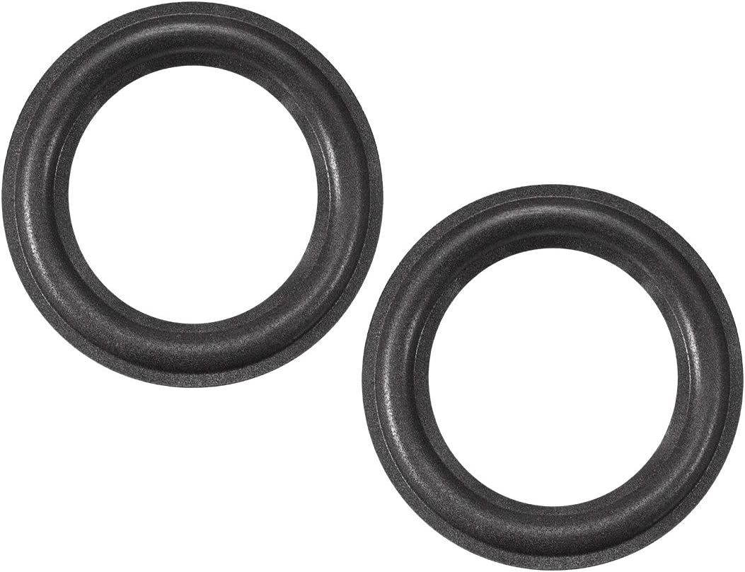 uxcell 6.5 inches 6.5 inches Speaker Foam Edge Surround Rings Replacement Parts for Speaker Repair or DIY 2pcs