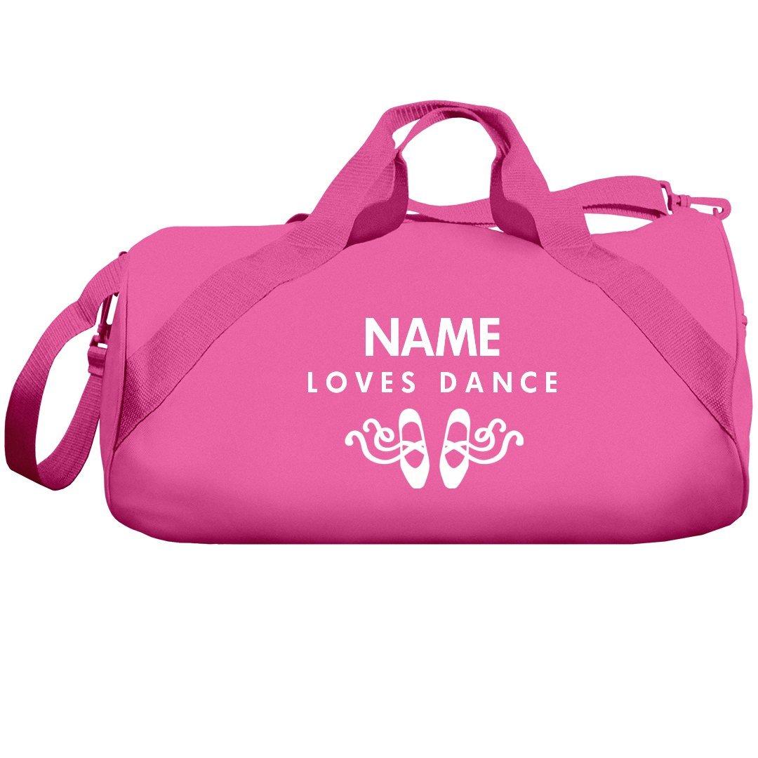 Custom Name Loves Dance Bag: Liberty Barrel Duffel Bag