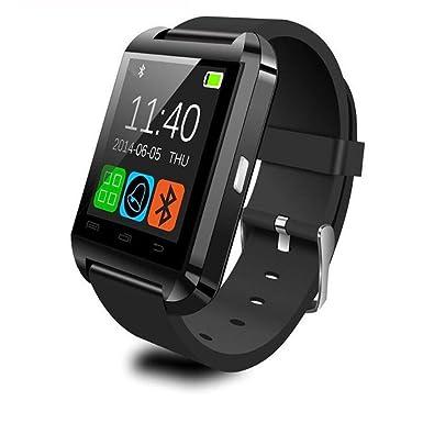 Inteligente Reloj U8 reloj inteligente Bluetooth reloj de pulsera para Samsung Galaxy S3 S4 S5 HTC