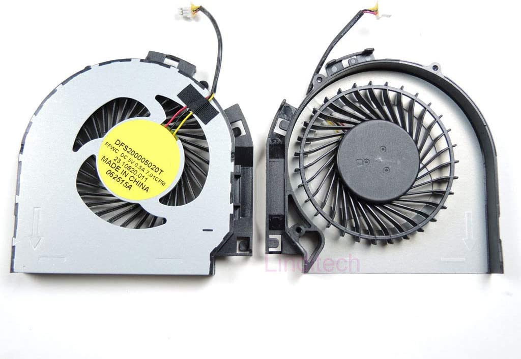 Laptop CPU Cooling Fan for DELL Inspiron 17 7737 P24E 23.10820.011 DFS200005020T FFWC DC5V 0.5A New