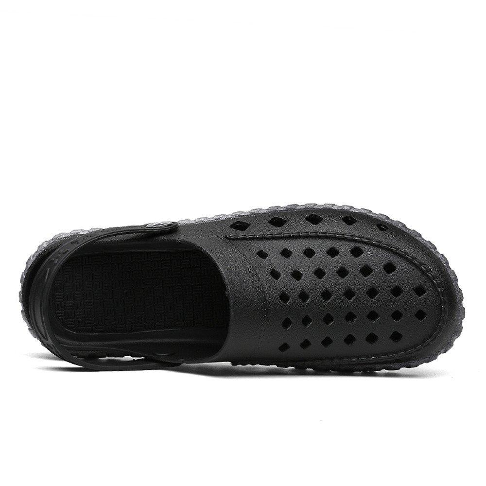 ✩HebeTop Men's and Women's Classic Clog, Comfort Slip On Casual Water Shoe Black by ▶HebeTop◄➟HOT SALES