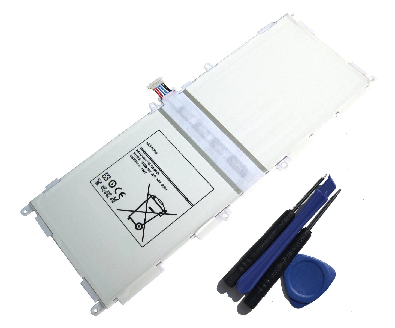 aowe Replacement Battery EB-BT530FBU EB-BT530FBE EB-BT530FBA EB-BT530FBC For Samsung Galaxy Tab 4 10.1 SM-T530NU T531 T535 P5220 6800mAh with FREE Toolaowe Replacement Battery EB-BT530FBU EB-BT530FBE by Aowe (Image #1)