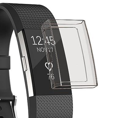 Fitbit Charge 2 Coque, YUYOUG Protecteur dÉcran TPU Ultra ...