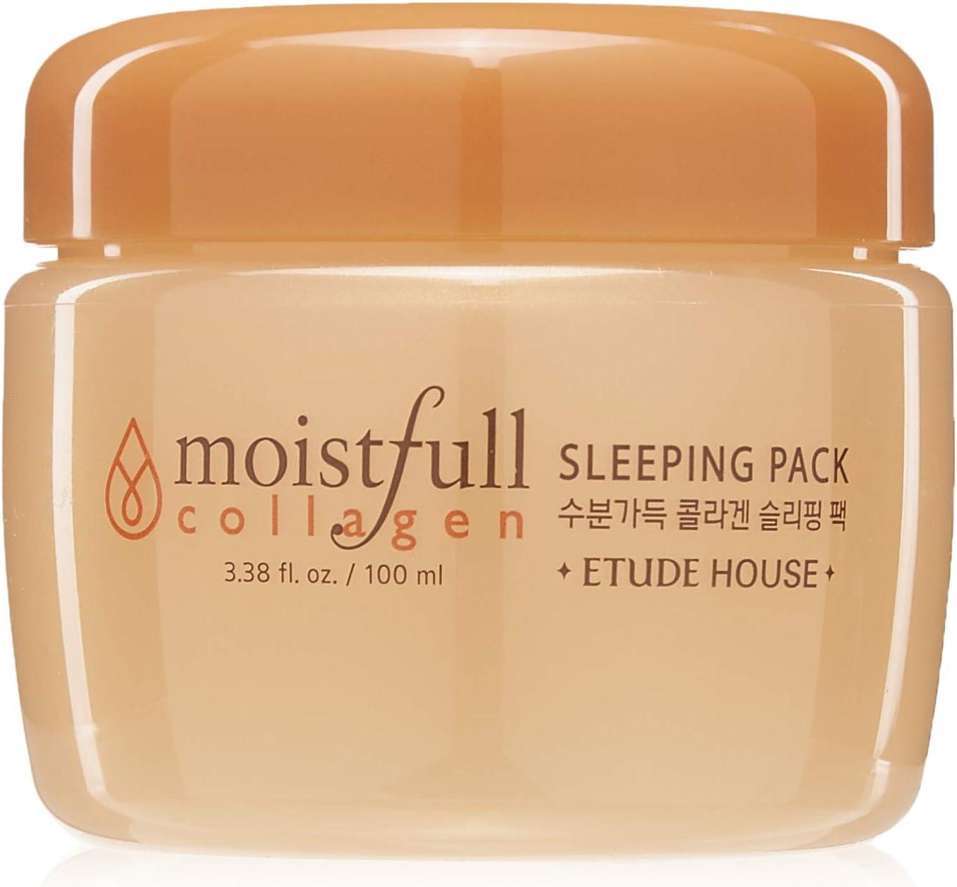 ETUDE HOUSE Moistfull Collagen Sleeping Pack: Amazon.es: Belleza