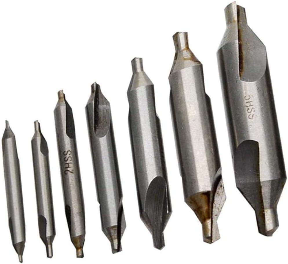2.5//3//4 5mm for Metal Uptodate Screwdriver Set 7X Center Drill HSS 60 /° 1//1.5//2
