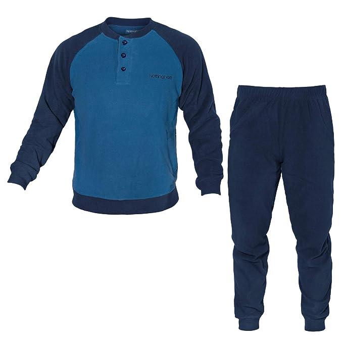 78b3804c67 NOTTINGHAM Pigiama Homewear Uomo Pile Art.27704: Amazon.it: Abbigliamento