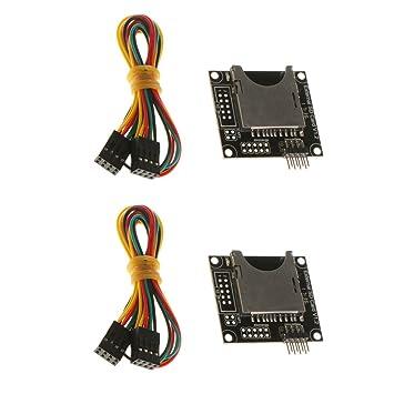 Homyl 2 Pieza Módulo Tarjeta Memoria Accesorios Impresoras 3D ...