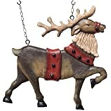 Reindeer Hanging Decorative Christmas Replacement Plaque for Arrow Holder
