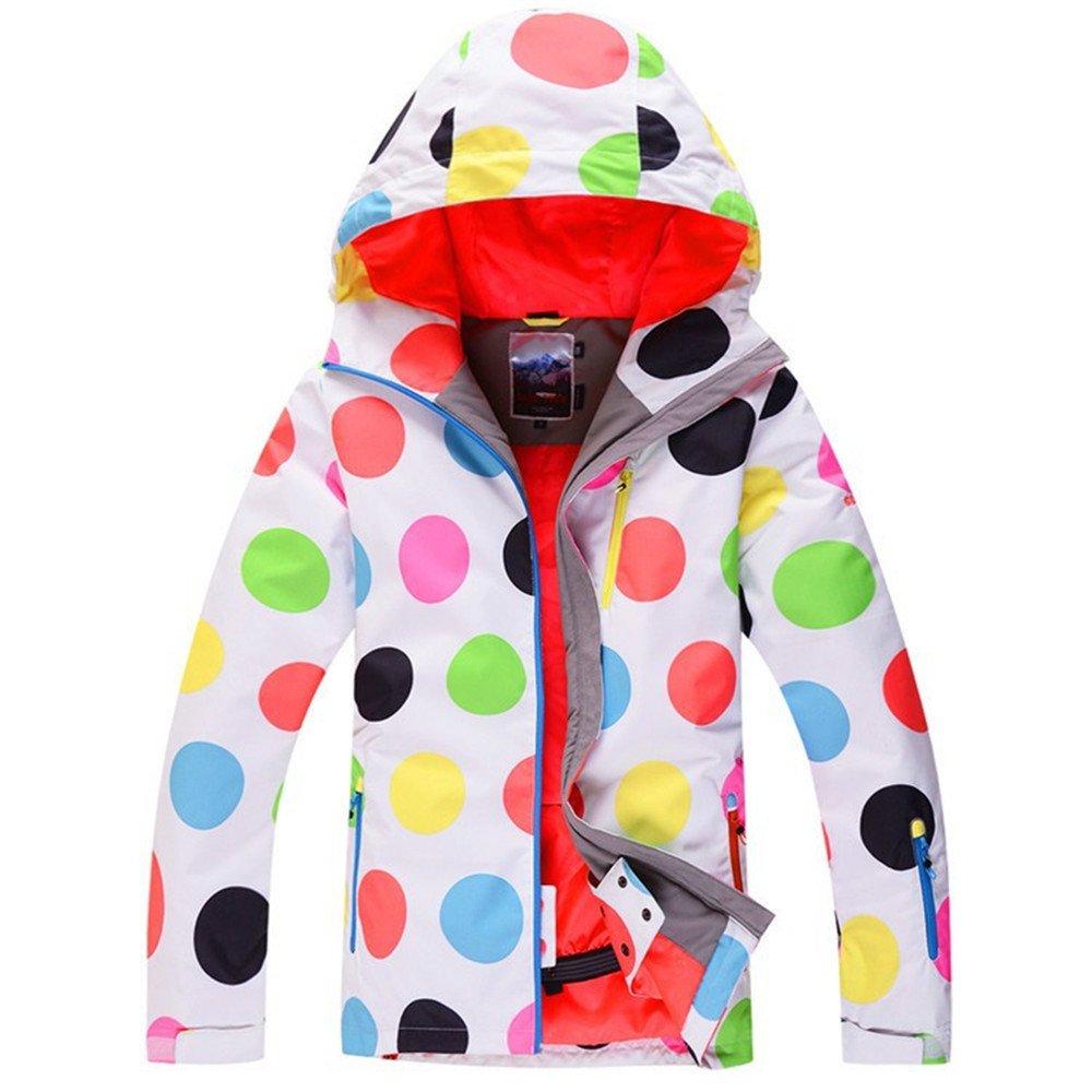 Style1 HOTIAN Women's Windproof Waterproof Bright color Ski&Snowboarding Jacket