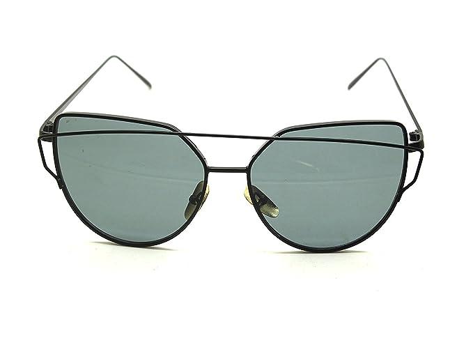 Art Und Weisefarbenobjektiv Polarisierte Sonnenbrille Große Rahmen-Sonnenbrillefrauen, Die Gläser Fahren Schwarzer Rahmen Graue Linsen