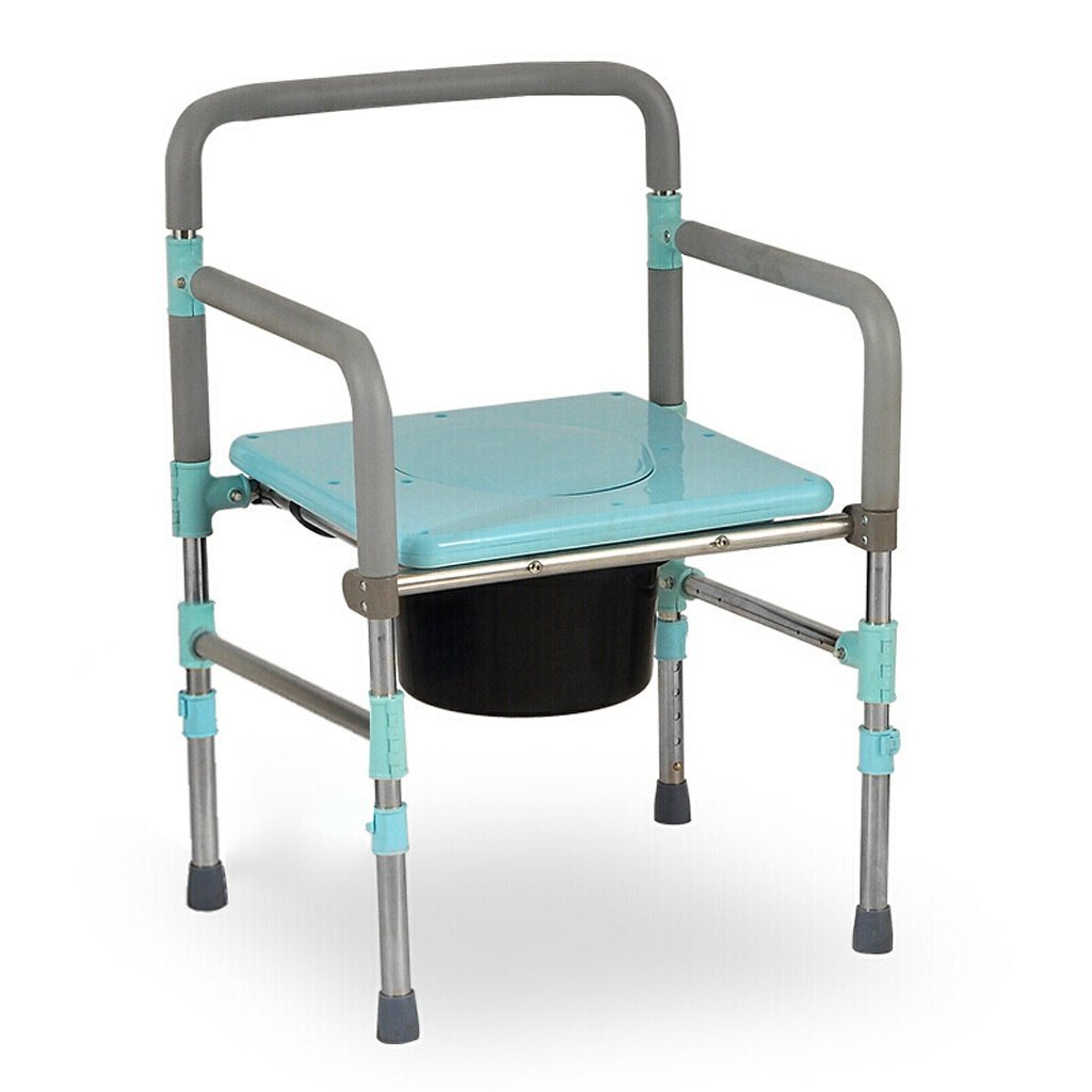 Amazon.com: Lxn Chair Bath Chair Collapsible Height Adjustable ...