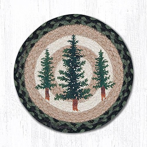 Capitol Earth Rugs 80-116TT Trivet, Green from Capitol Earth Rugs