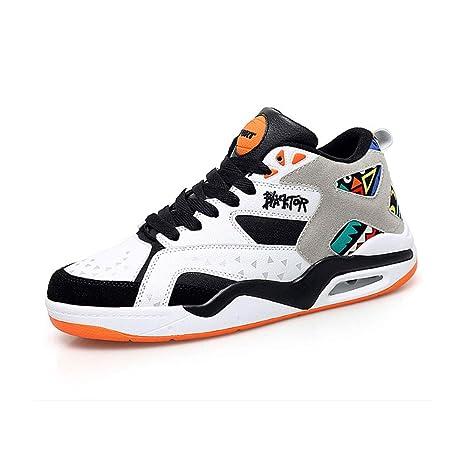 YSZDM Zapatos de Baloncesto, amortiguadores de Aire Zapatos ...