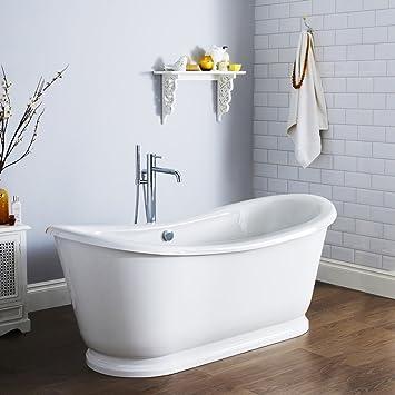 baignoire ilot sabot pose libre design moderne meuble de salle de bain acrylique qualit - Pose Baignoire Acrylique Avec Tablier