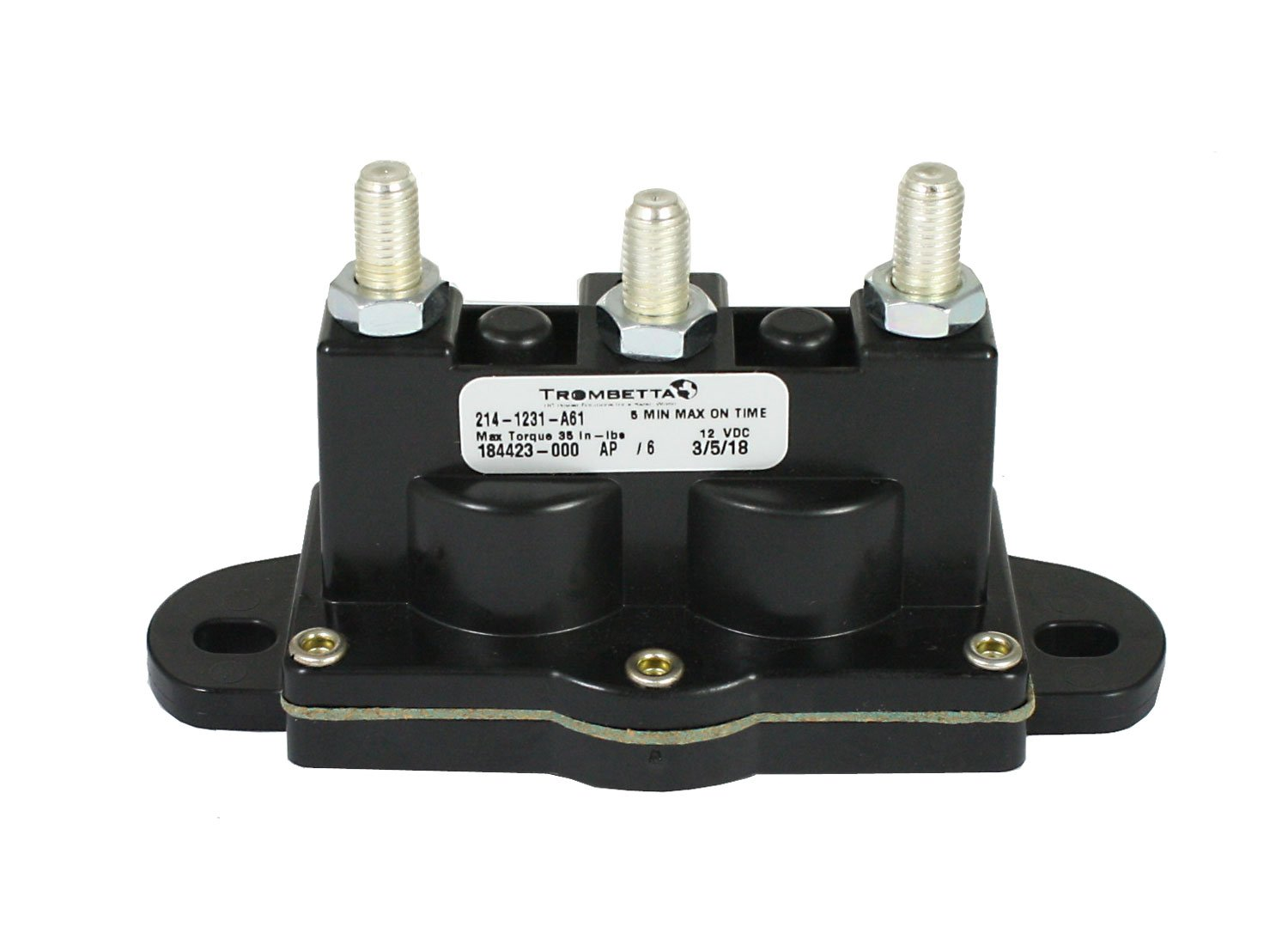 Best Rated In Motor Contactors Helpful Customer Reviews Contactor Relay Wiring Diagram Free Engine Image For User Trombetta 214 1231 A61 12 Volt Reversing Polarity Dc Product