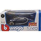 Bburago 1/43 ブガッティ シロン ブルー 完成品