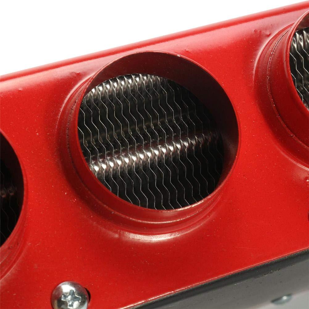 Auto LKW Fahrzeug Sanit/är Klimaanlage Winter Windschutzscheibe Defroster Demister Heizung Drehzahlschalter heling896 6 Ports Universal DC12-24V Tragbare Auto-Heizl/üfter