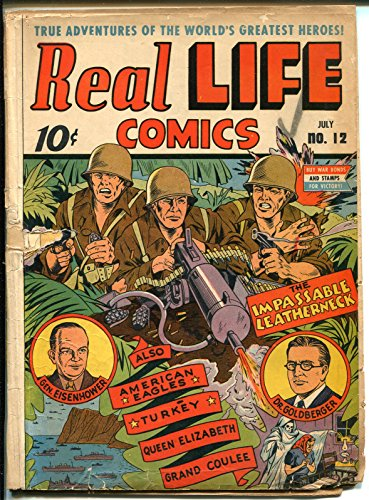 Wwii Machine - Real Life #12 1943-Nedor-WWII-.50 caliber machine gun-Eisenhower-FDR-FR/GOOD