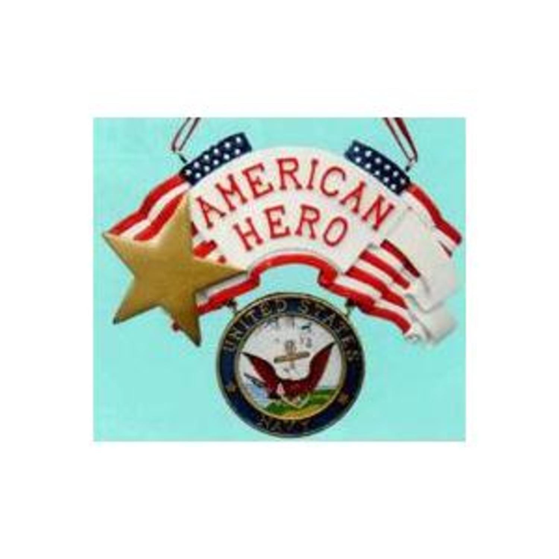 American Hero U.S. Navy Christmas Ornament